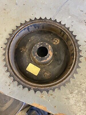 Vintage Norton Dominator, Es2  Rear Wheel Brake Drum, Rear Sprocket