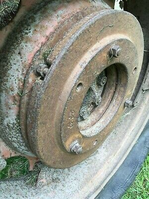 fordson major rear wheel weights