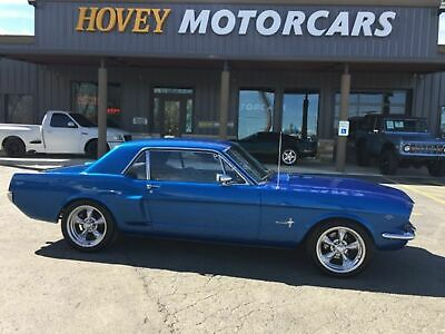1966 Ford Mustang Restomod  coupe stroker Ford 289 punch to 331 Stroker, Monster AOD Automatic Transmission,  Vintage A/C