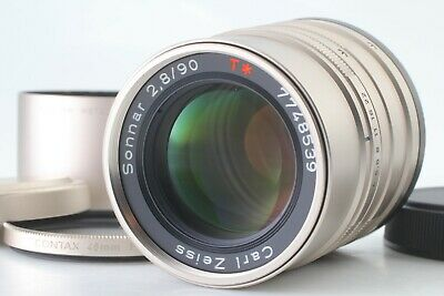 [ TOP MINT ] Contax Carl Zeiss Sonnar T* 90mm f/ 2.8 for G1 G2 from Japan 0540