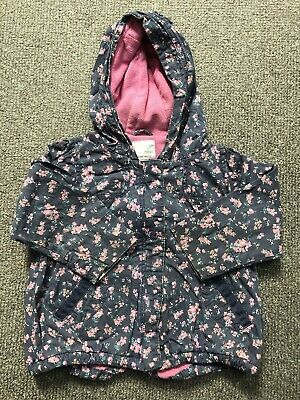 Next Girl Fleece Lined Spring Jacket Age 3-4 Years