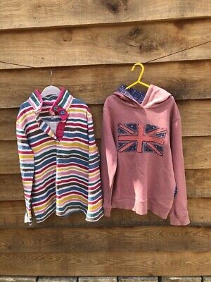 Joules And Mini Boden Girls Sweatshirt Mini Bundle 11-12 Years