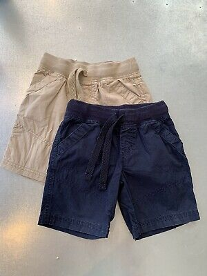 Two Pairs Of boys Shorts age 2 To 3 years 100% Cotton Marks & Spencer