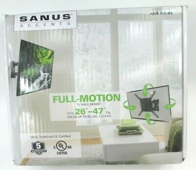 "Sanus ACCENTS TV wall mount for 26 "" to 47"" Flat screen display"
