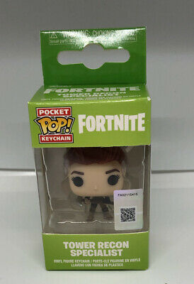 Multicolor Keychain FortniteTower Recon Specialist Funko 36951  Pop