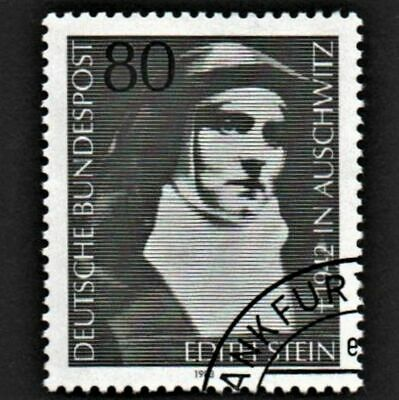 OLD STAMP GERMANY 1982 cv£0.80 DEATH ANNIVERSARY OF EDITH STEIN USED UNH