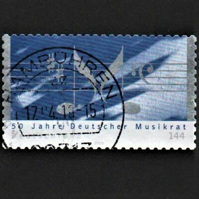 OLD STAMP GERMANY 2003 cv£4.50 GERMAN MUSIC ASSOCIATION ANNIVERSARY USED UNH