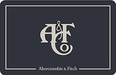 Abercrombie & Fitch Gift Card $75.00