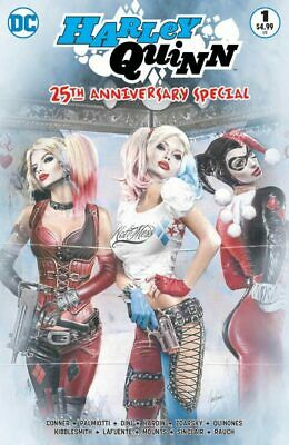 Harley Quinn 25th Anniversary Special #1 Natali Sanders Color Variant (DC 2017)