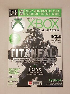 Xbox Official Magazine 2014 Issue 109
