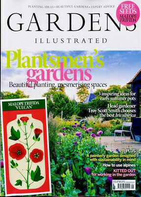 Gardens Illustrated Magazine #286 - May 2020 With Free Seeds ~ New ~