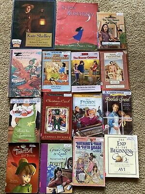 Lot Of 15 Childrens Chapter Books, Babysitters Club, Boxcar Children, Disney