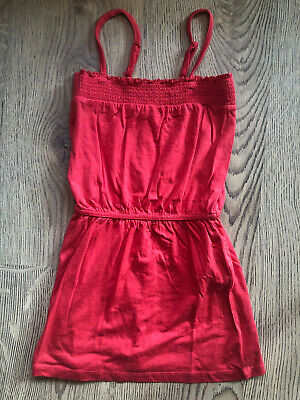 Red Summer Dress Girls Outfit 8/9 Years Brand New