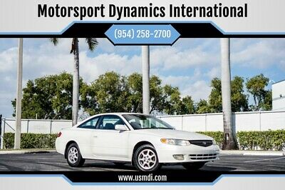2001 Toyota Solara SE 2dr Coupe 2001 Toyota Camry Solara, White with 180,850 Miles available now!