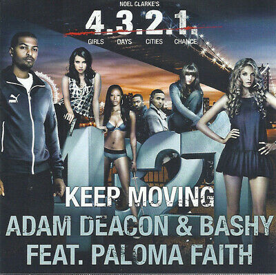 4.3.2.1. Keep Moving Adam Deacon & Bashy Featuring Paloma Faith Promo CD Single