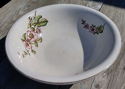Antique Willets Ironstone Wash Basin Circa 1900