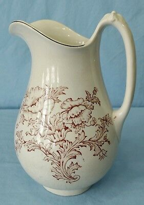 Antique Ironstone C.C.T.P. Co. Pitcher for Wash Basin