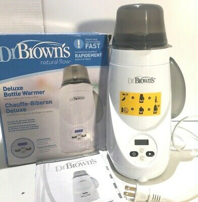 Dr Browns Natural Flow Deluxe Bottle Warmer EXCELLENT CONDITION WORKING 100%