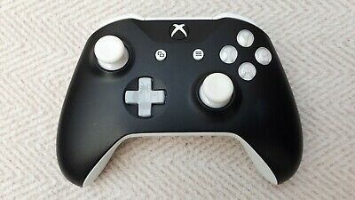 Official Microsoft xbox one wireless controller  - Custom White/Grey and Black