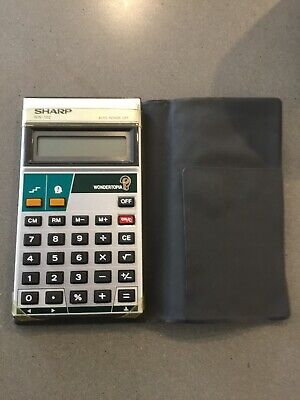Sharp WN-102 Game Calculator
