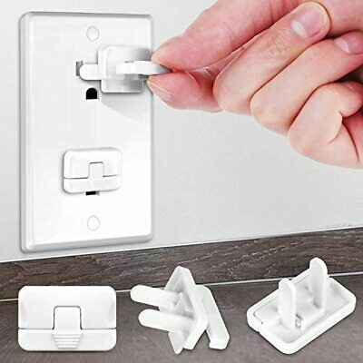 Baby Proofing Outlet Covers with Hidden Pull Handle (40 Pack) Keep Your Kids