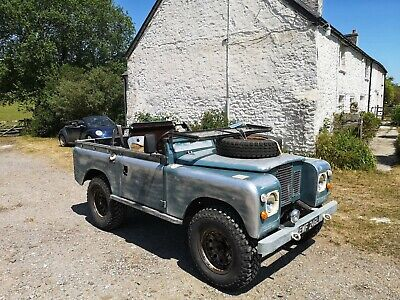 Awesome Land Rover!!! 1972 Series 3 88 Galvanised Chassis 200Tdi