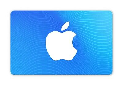 Apple App Store and iTunes - £100 Gift Card - UNUSED