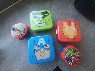 avengers lunchbox bundle