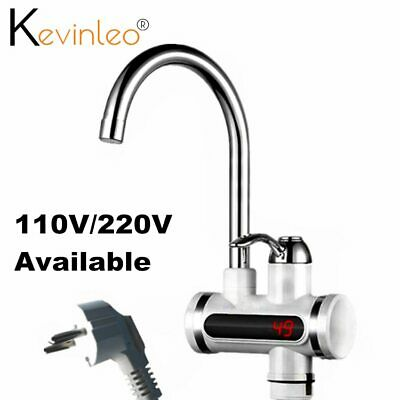 Water Heater Tankless Element 110V 220V 3000W Kitchen Instant Electric Faucet