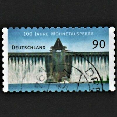 OLD STAMP GERMANY 2013 cv£5.50 MOHNETALSPERRE DAM ANNIVERSARY USED UNH