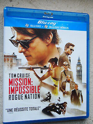 MISSION IMPOSSIBLE ROGUE NATION | BLU-RAY Edition FR