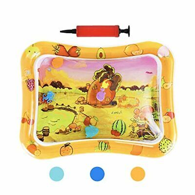 HABOM Upgrade Tummy Time Baby Water Mat Infant Slapped Toys Inflatable Play mat