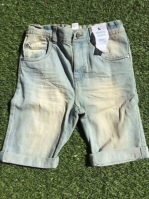 Boys Skinny Fit Denim Shorts From TU Age 9 New With Tags Trendy