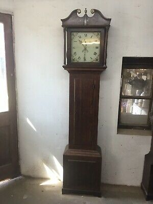 "Long Case Clock With ""thirtyhour "" Movement"