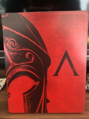 PS4/Xbox Assassins Creed Odyssey Steelbook aus Collector Edition Ultra Selten!!