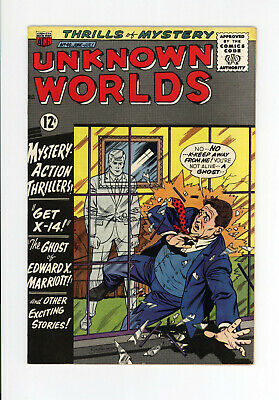 Unknown Worlds #48  Higher Grade - Very Scarce - 1966 Science Fiction