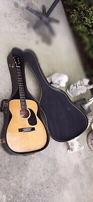 Hohner Acoustic HG 07 Made in Japan.I am not sure about age ( inside D 0544)