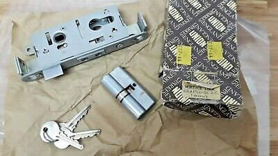 union cylinder mortice lock 222172-SC-AA with Keys New Old Ex Shop Stock Boxed