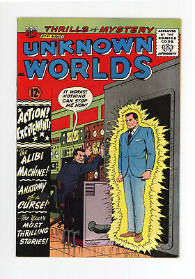 Unknown Worlds #41  High Grade - Very Scarce - 1965 Science Fiction