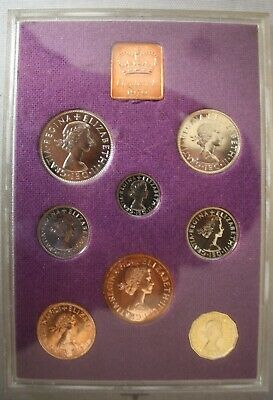 Royal Mint 1970 Proof set coinage of GB and NI