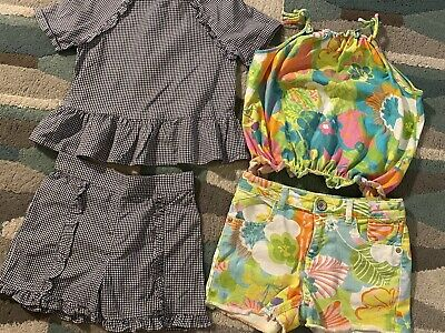 Girls Bundle of Tops & Matching Shorts Next, F&F 9 9-10 Years
