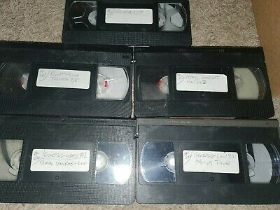 Used vhs tapes blank music video concerts