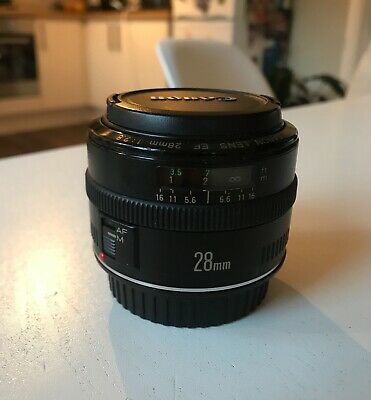 Canon EF 28mm f2.8 Usm Lens - Mint Condition
