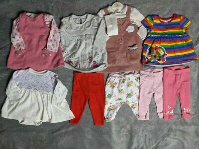 Bundle of girls 3-6 outfits including elmer and ted baker