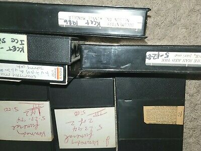 Used beta  betamax vhs tapes sold as blank documentaries news  kemnedy funeral