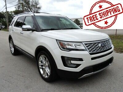 2016 Ford Explorer PLATINUM 2016 FORD EXPLORER PLATINUM 3.5L V6 ECOBOOST ENGINE AWD 55K MSRP