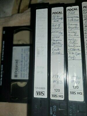 Used vhs tapes sold as blank tv shows series 1992