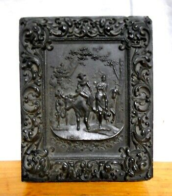 Antique Large Size Gutta Percha Photo Case (AS Found)