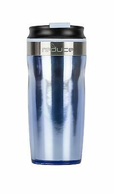 Reduce DASH Insulated Tumbler,16 oz, with Threaded Leakproof Lid, Ice Blue