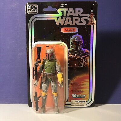 Star Wars Black Series SDCC Boba Fett 40th Anniversary Exclusive TBS MOC